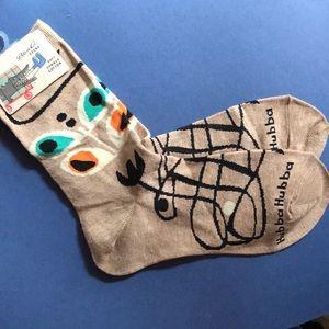 Accessories - 🐶  Blue Q Hubba Hubba Socks NWT